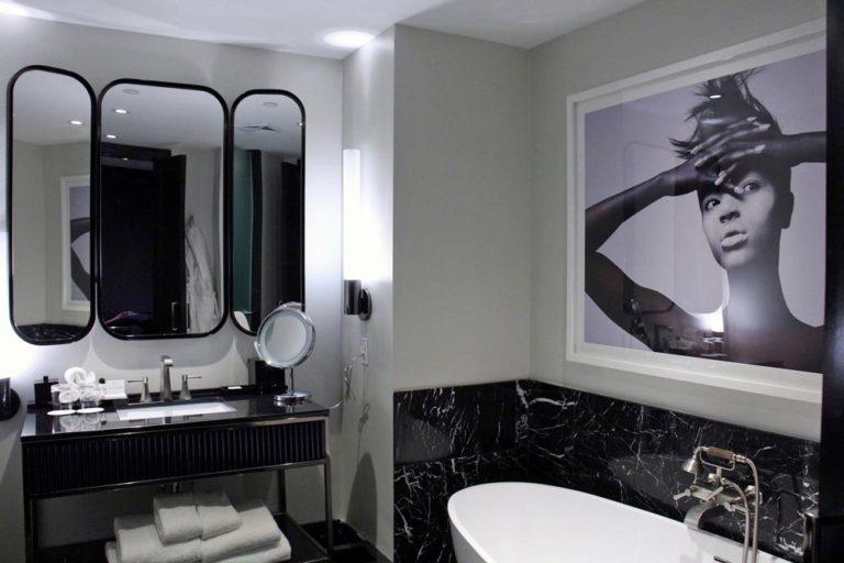 Salle de bain Hôtel Bisha