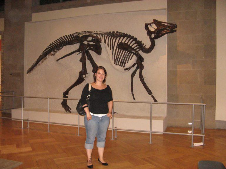 Moi au Royal Ontario Museum en 2007