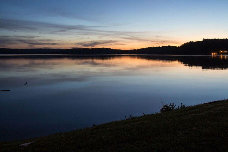 Coucher de soleil Lac Témiscamingue
