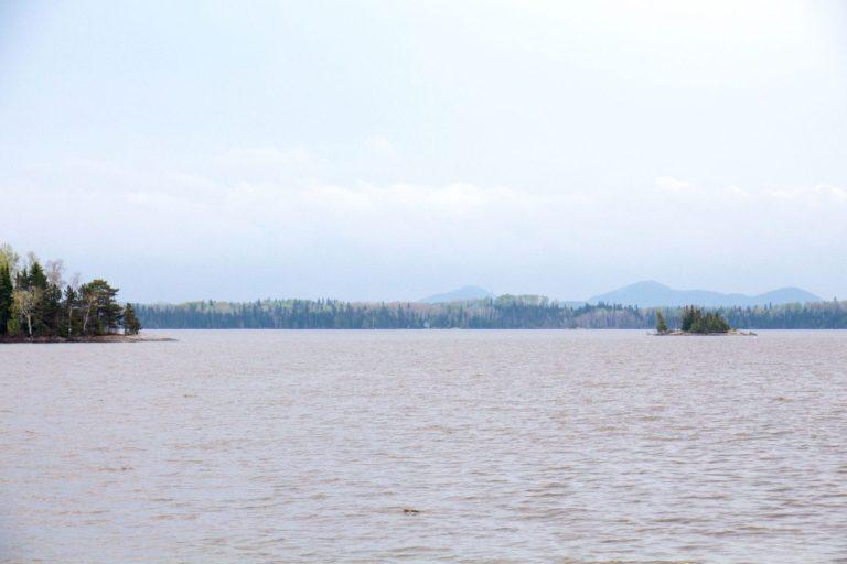 Vue lac Duparquet