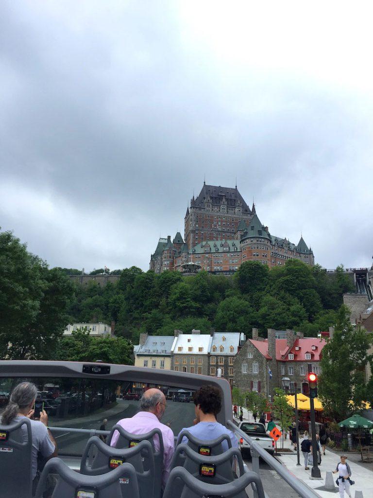 Autobus touristique de Québec