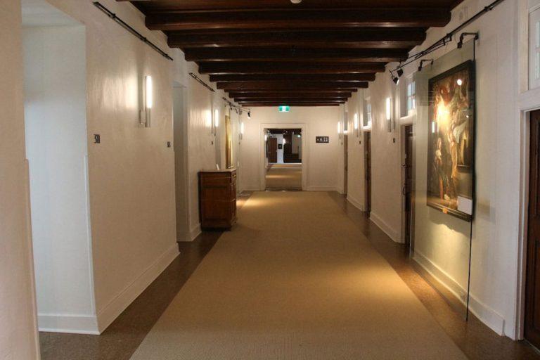Corridor au Monastère des Augustines