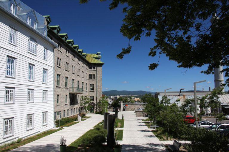 Vue du Monastère des Augustines