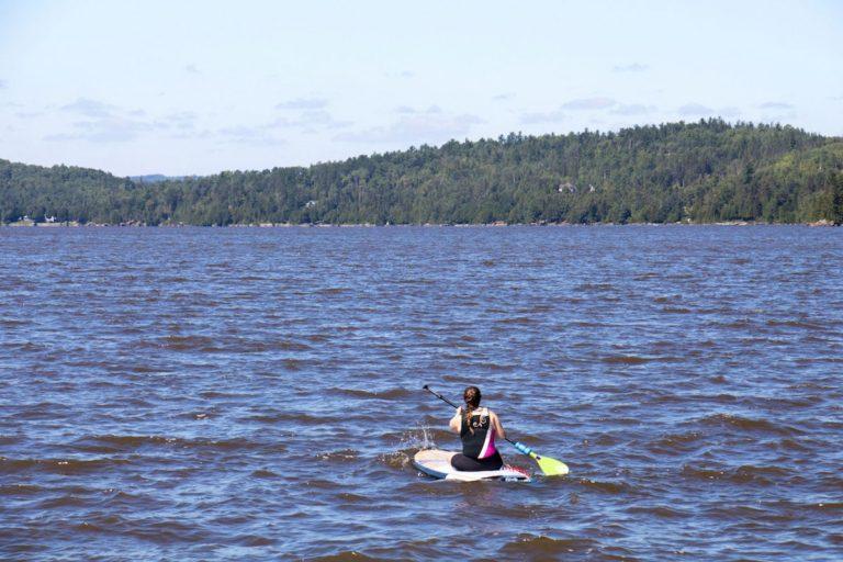 SUP sur le lac Témiscamingue