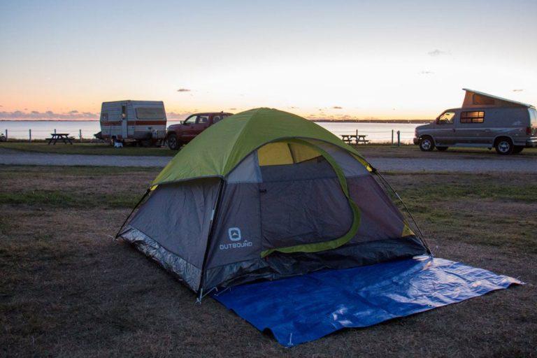 Camping au Parc de Gros-Cap