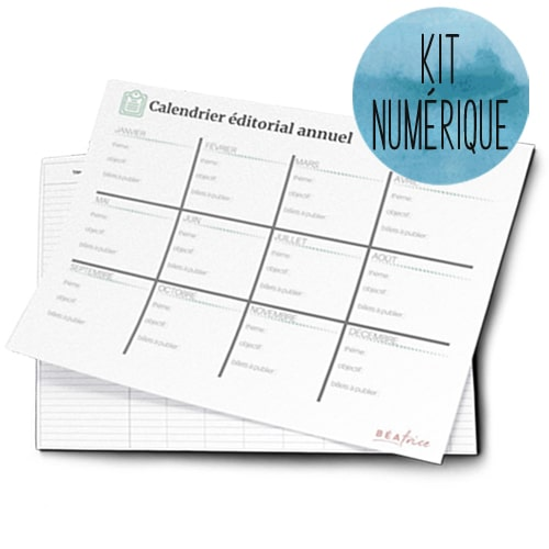 kit d'outils pour blogueuses