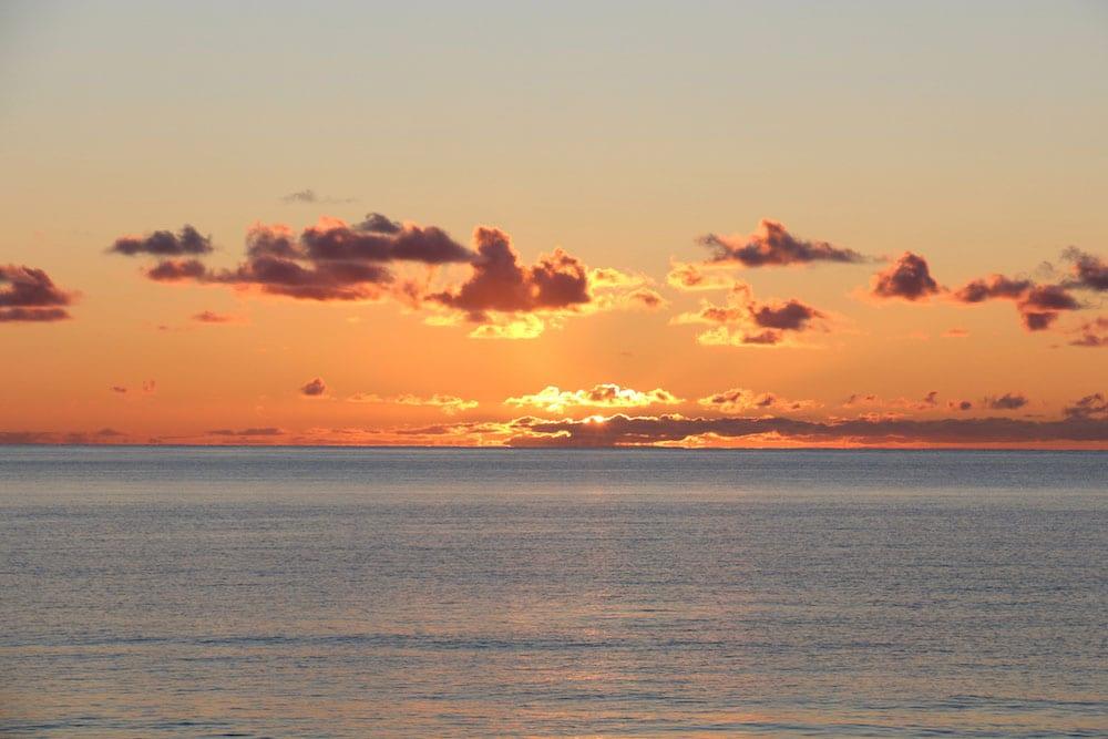 Lever de soleil au Parc de Gros-Cap