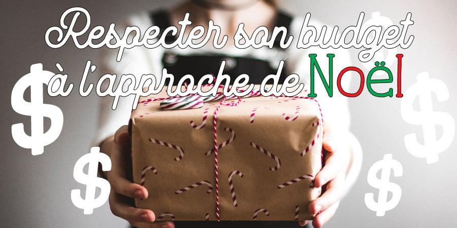 Respecter son budget à l'approche de Noël
