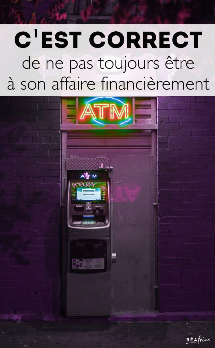 Image pour Pinterest : gérer son argent