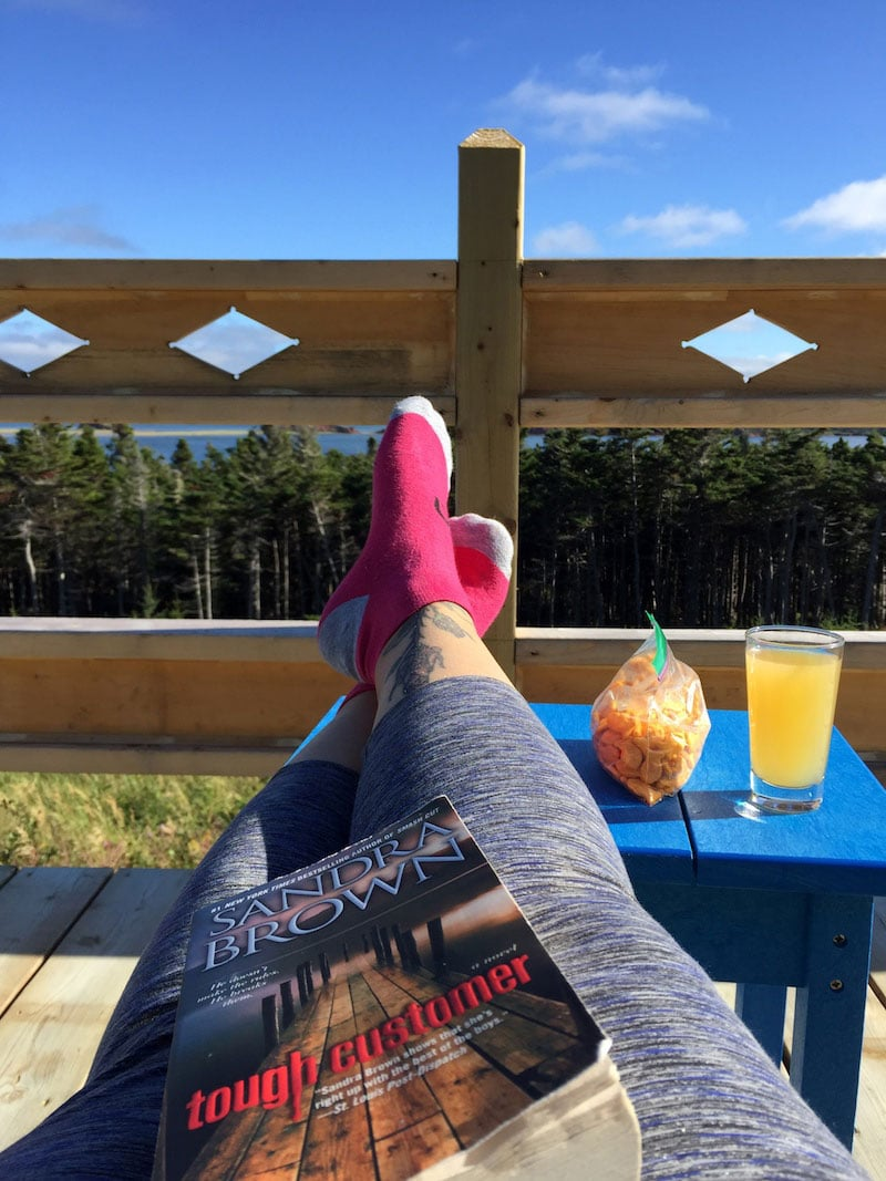 Relaxation à La Salicorne