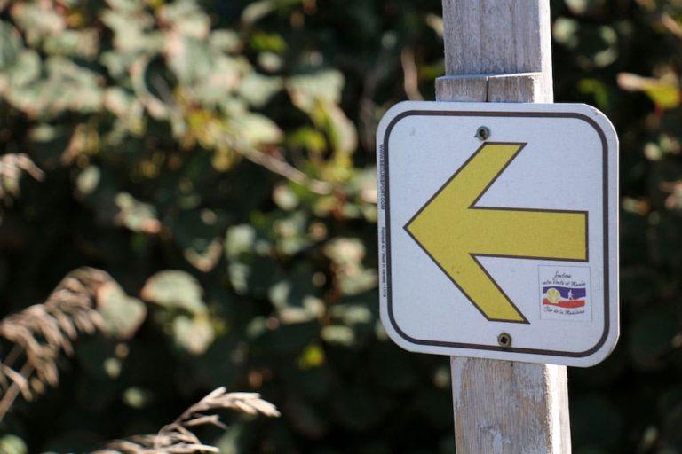 Signalisation des Sentiers Entre Vents et Marées