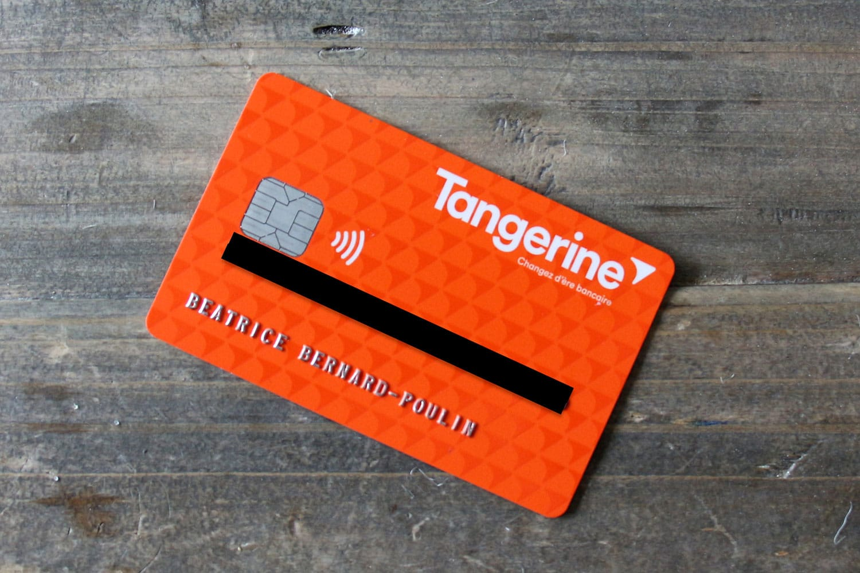 Carte débit Tangerine