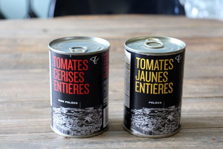 Tomates en canne originales