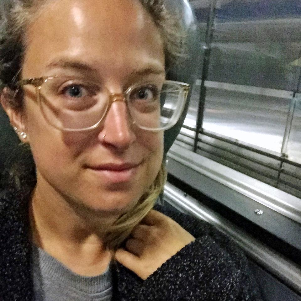 Moi dans le train Montréal-Senneterre