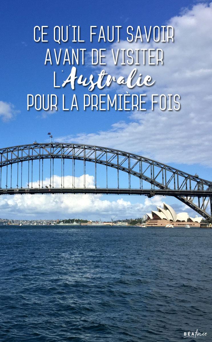 Image pour Pinterest : voyage en Australie