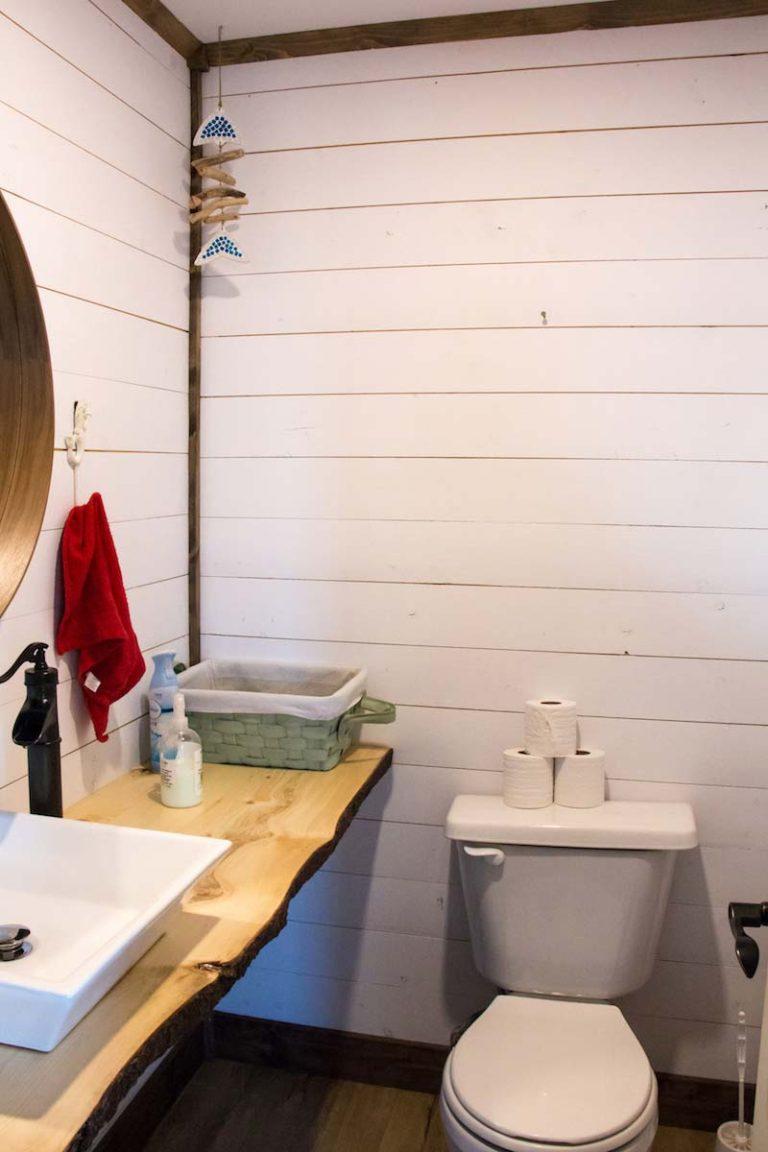 Salle de bain Auberge Paradis Bleu