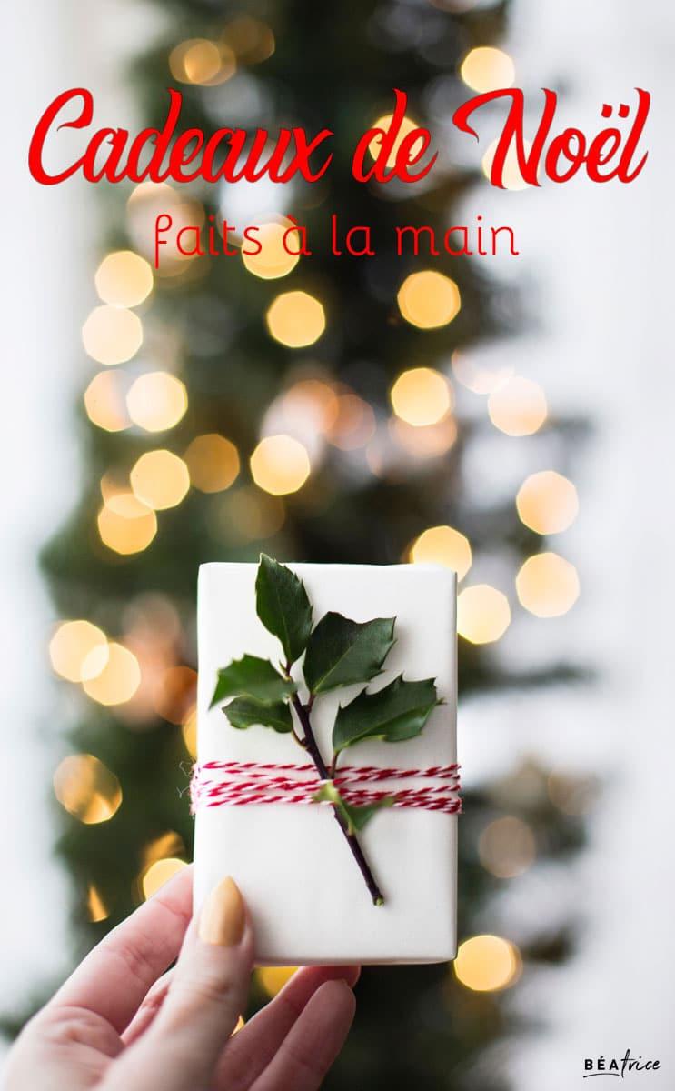 Image pour Pinterest : Cadeau de Noël DIY