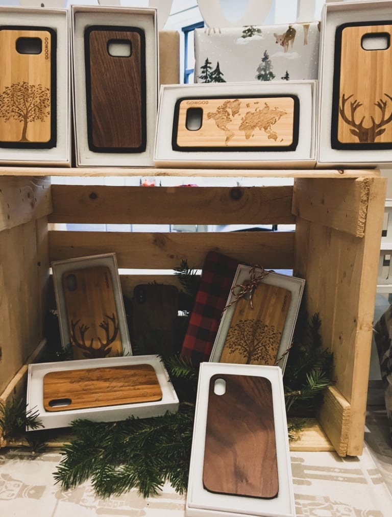 Étuis pour cellulaires Go Wood
