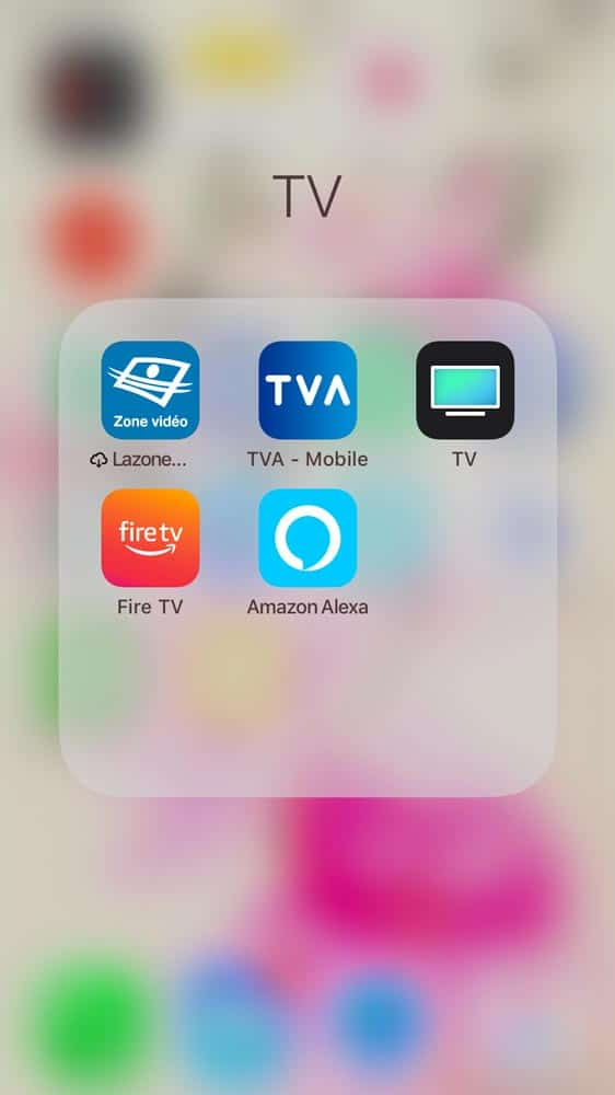 Apps iPhone pour Fire TV et Apple TV