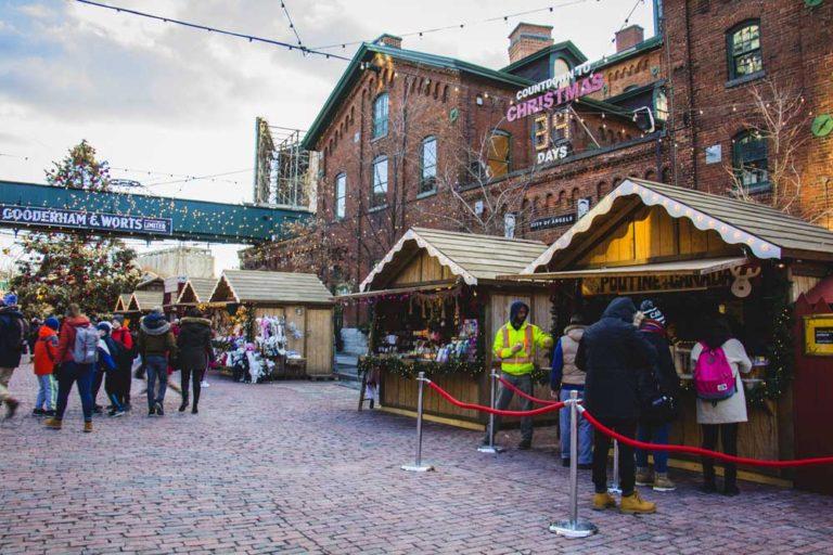 Christmas Market au Distillery District