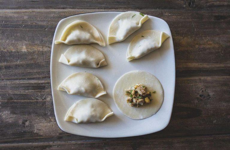 Dumplings à la dinde non cuits