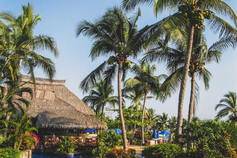Resort à Manzanillo, au Mexique