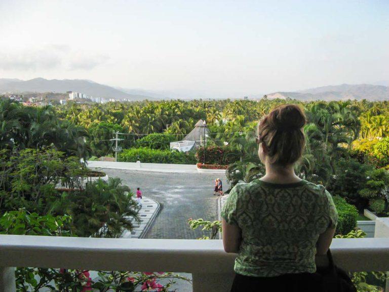 Moi à Manzanillo, Mexique