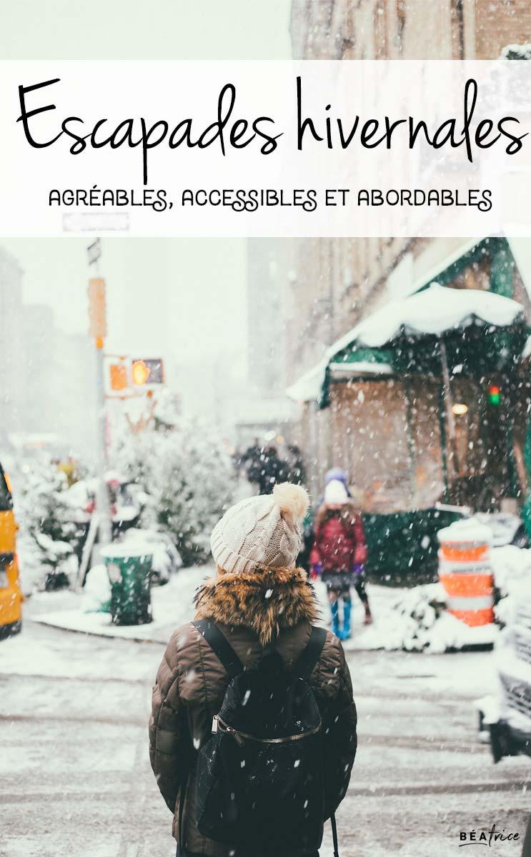 Image pour Pinterest : voyage hiver