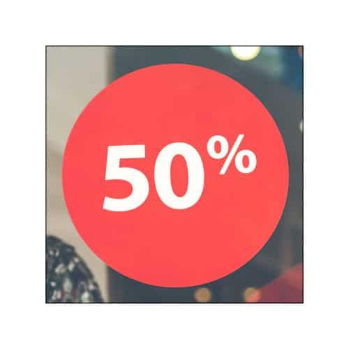 50% sur les produits numériques