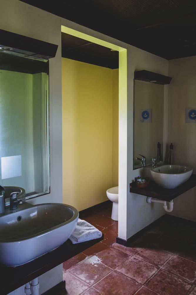 Salle de bain hôtel Media Luna