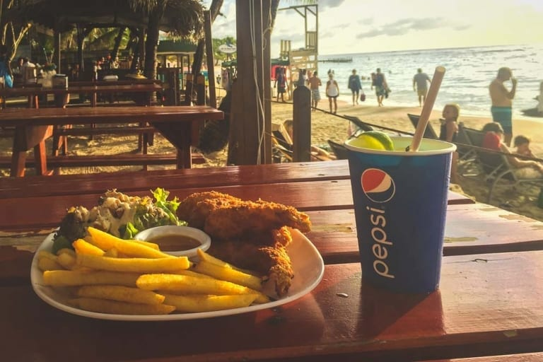 Repas au Bananarama