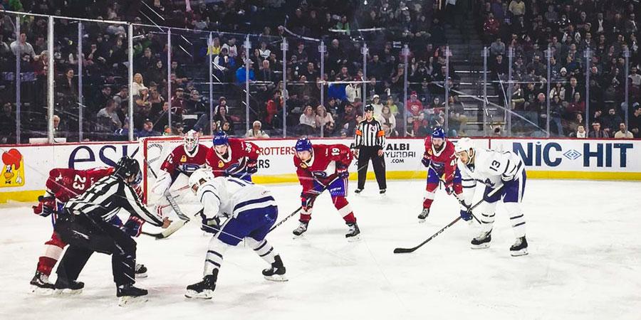 Image à la une : match Rocket de Laval