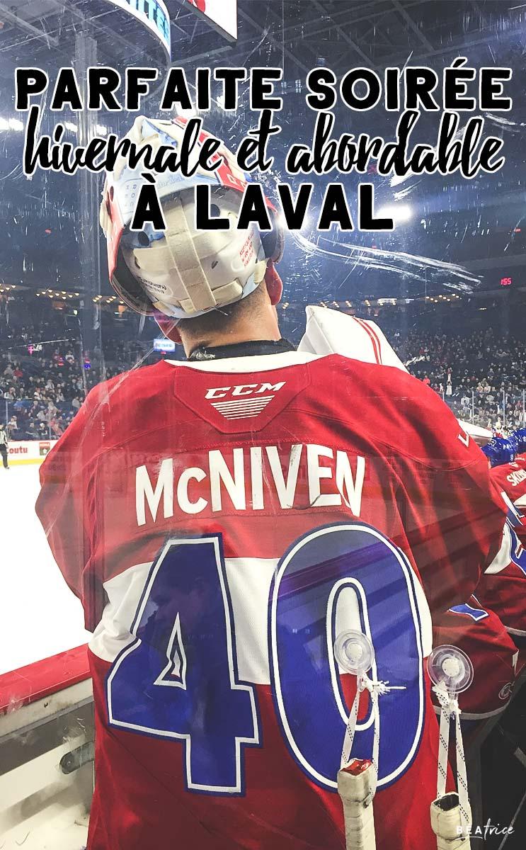 Image pour Pinterest : match Rocket de Laval