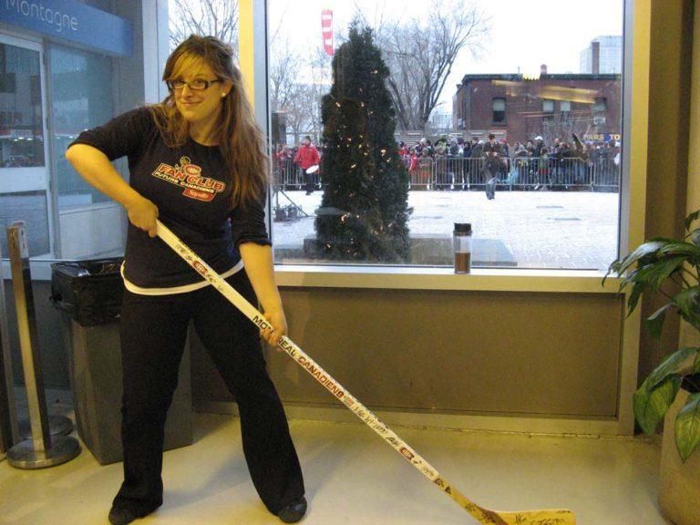 Moi quand je travaillais aux Canadiens