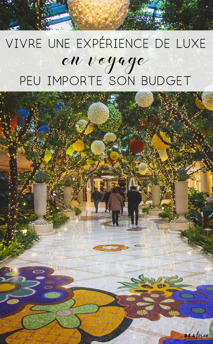 Image pour Pinterest : vacances luxe pas cher