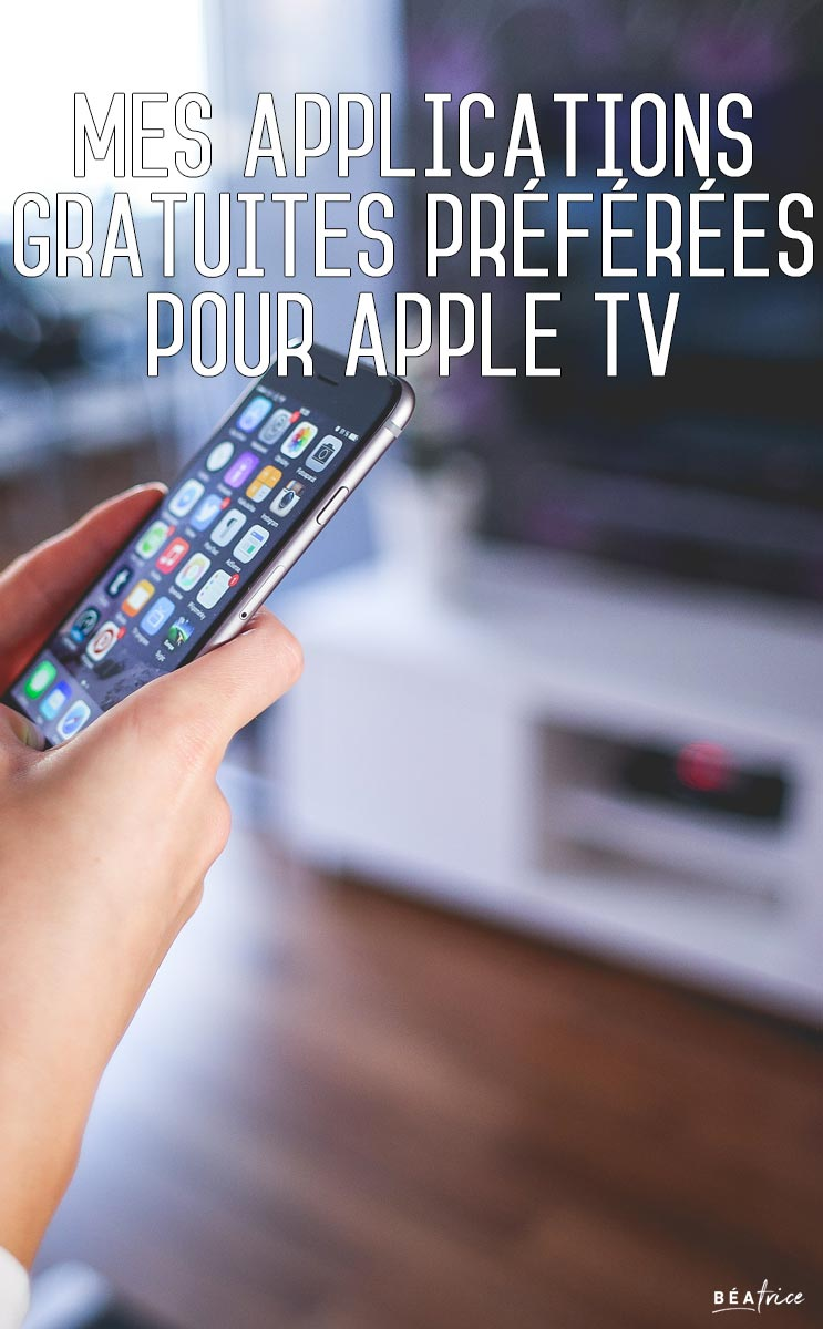 Image pour Pinterest : apple tv apps canada
