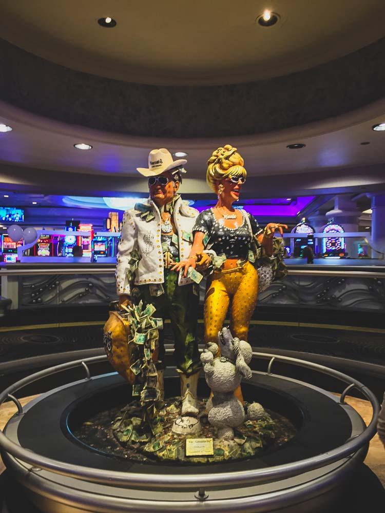 Décoration à l'intérieur d'un casino