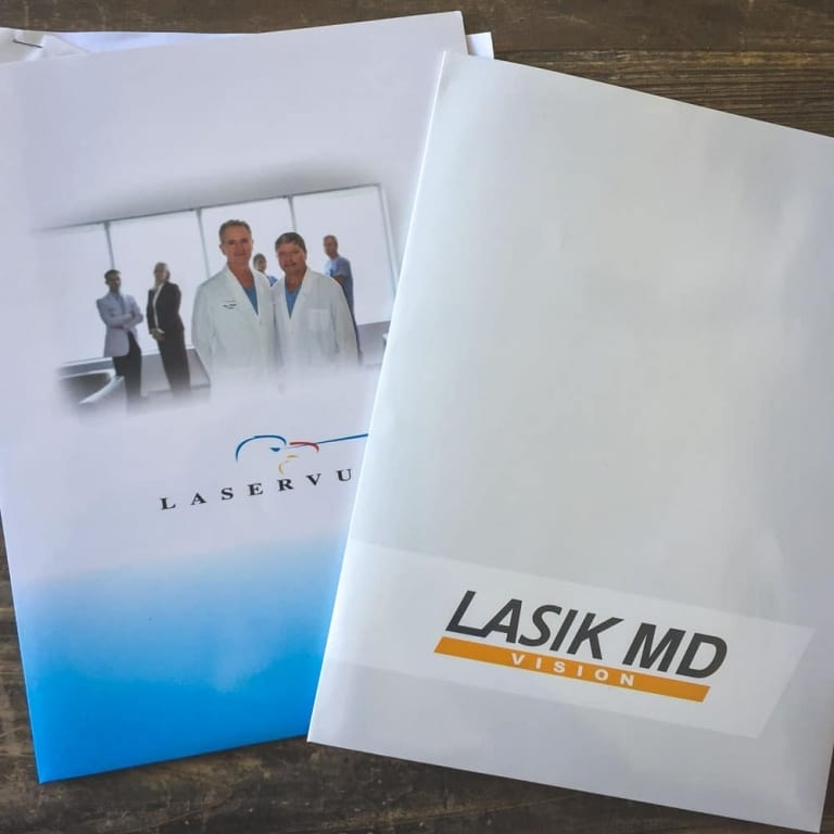 Dossiers de Laservue et Lasik MD