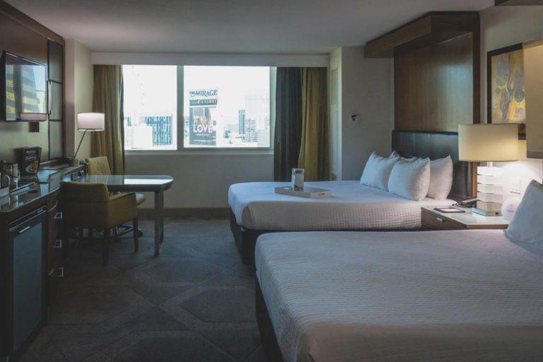 Chambre de l'hôtel Mirage