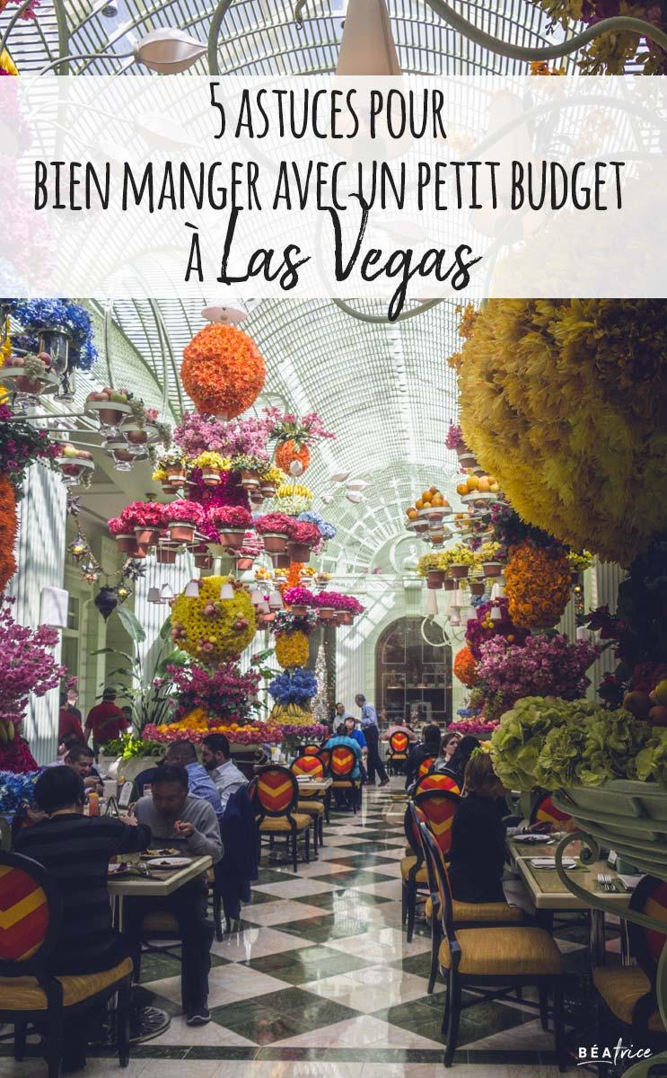 Image pour Pinterest : restaurant pas cher Las Vegas
