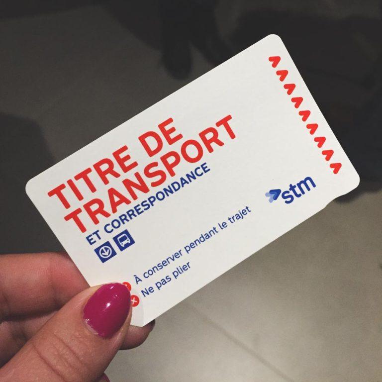 Titre de transport gratuit