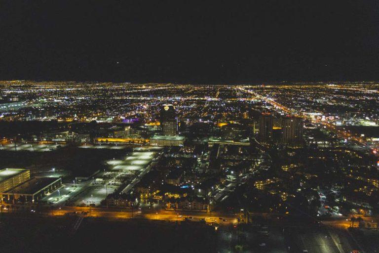 Vue du High Roller à Las Vegas