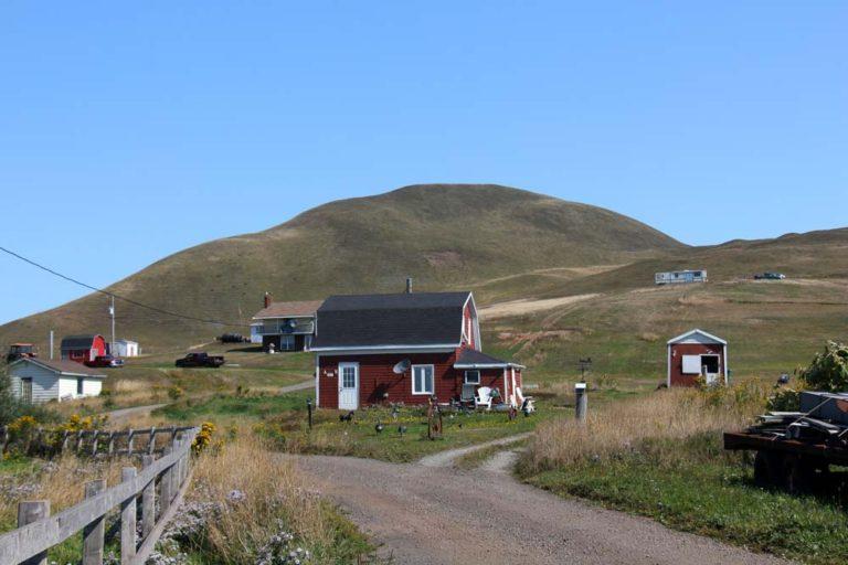 Maisons à l'île d'Entrée