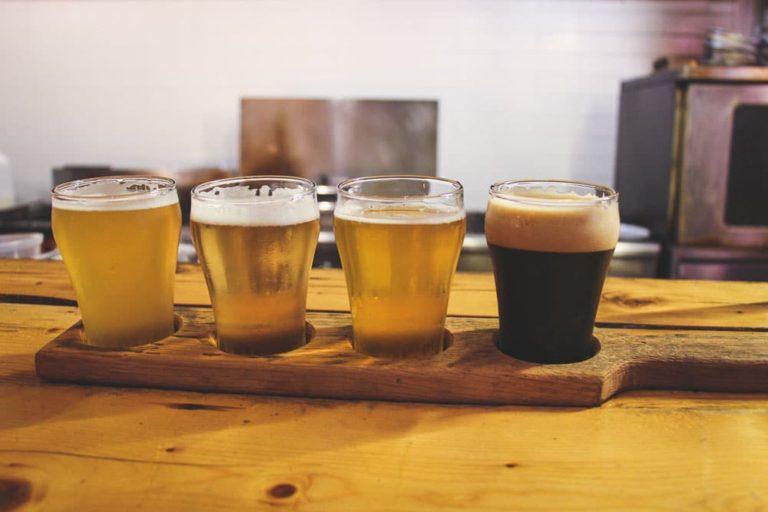 Dégustation de bières au Temps d'une pinte