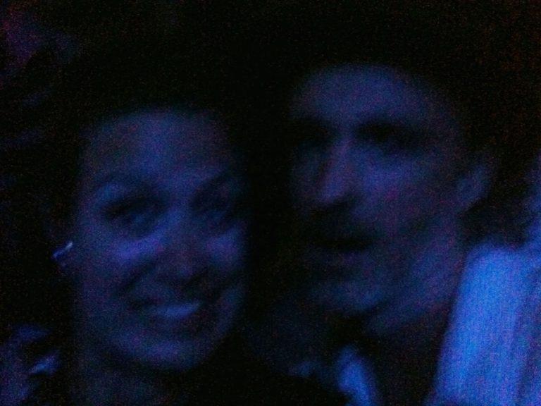 Moi et Fran Healy à Osheaga 2010