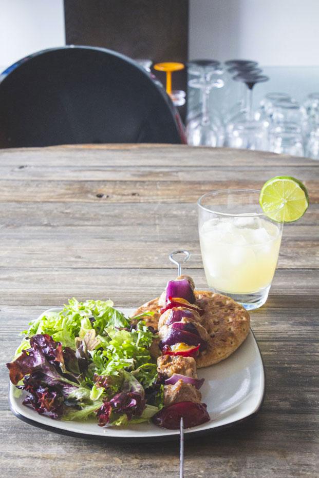 Repas fait avec des aliments trouvés sur Flashfood