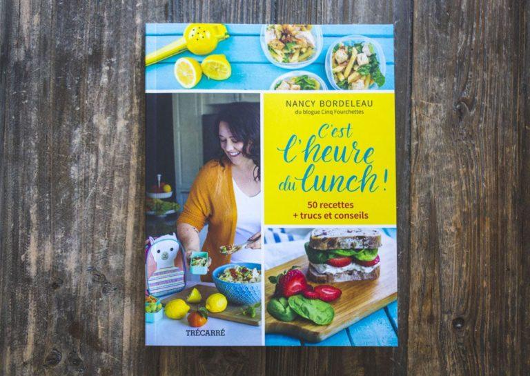 Livre C'est l'heure du lunch de Nancy Bordeleau