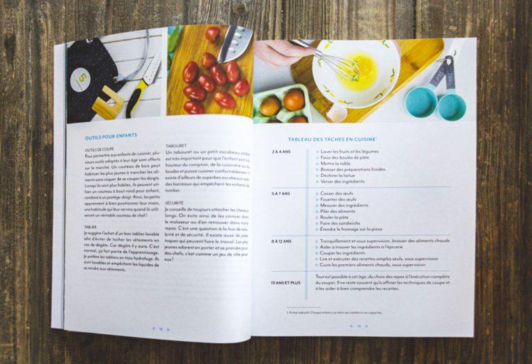 Intérieur du livre C'est l'heure du lunch