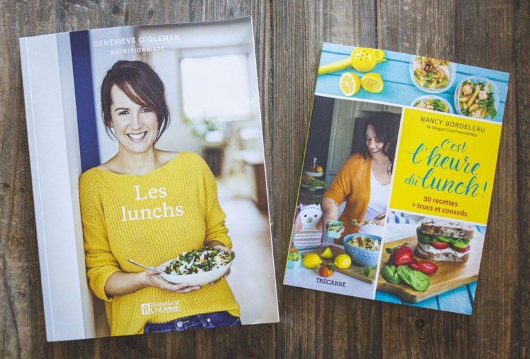 Livres Les lunchs et C'est l'heure du lunch