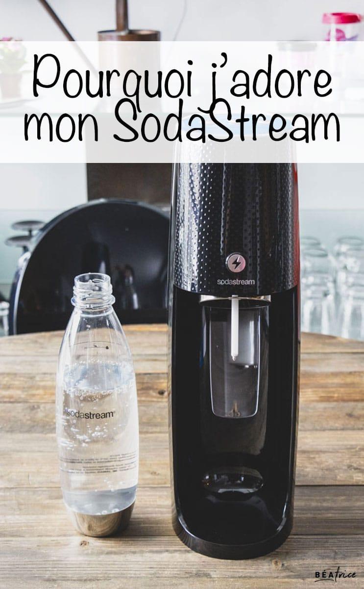 Image pour Pinterest : SodaStream